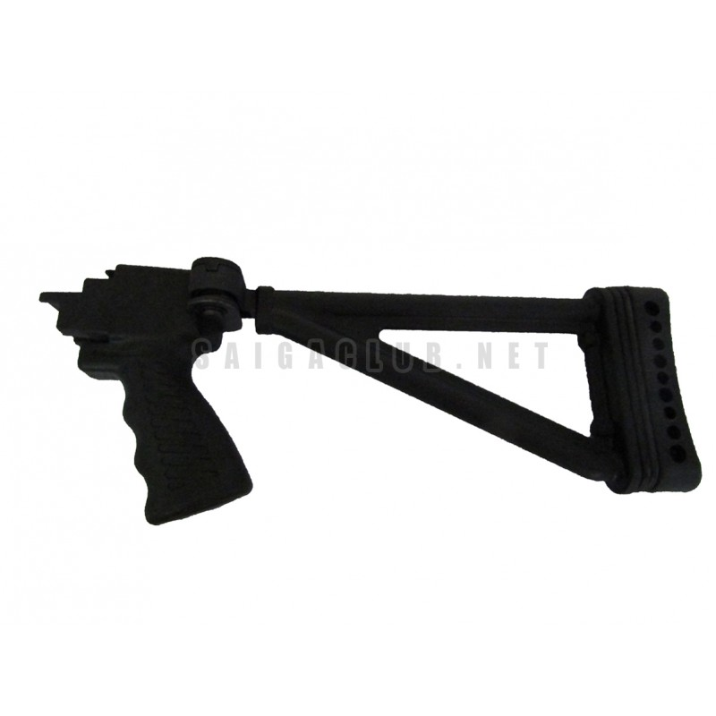Collapsible buttstock saiga