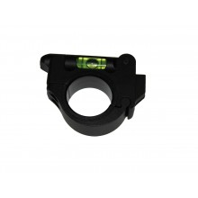 Rifle scope bubble level ring