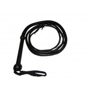 Genuine leather bullwhip