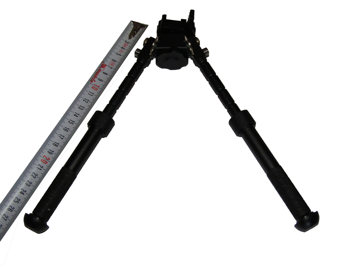 Telescoping bipod