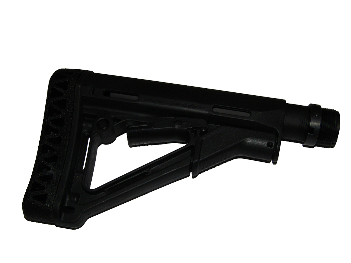 Buttstock with damper