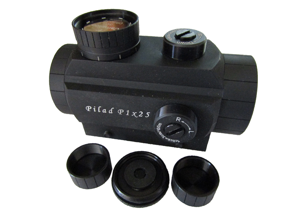 Red dot collimator sight Pilad P1x25